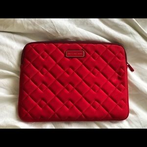 Marc by Marc Jacobs quilted laptop sleeve